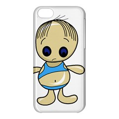 Cute Boy Apple Iphone 5c Hardshell Case by Valentinaart