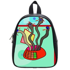 Dancing  Snakes School Bags (small)