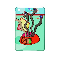Dancing  Snakes Ipad Mini 2 Hardshell Cases by Valentinaart