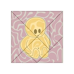 Cute Thing Acrylic Tangram Puzzle (4  X 4 ) by Valentinaart