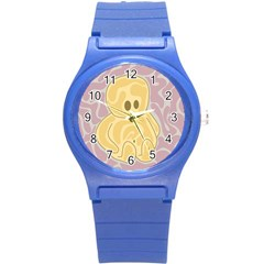 Cute Thing Round Plastic Sport Watch (s) by Valentinaart
