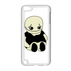 Halloween Sad Monster Apple Ipod Touch 5 Case (white) by Valentinaart