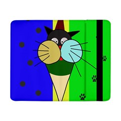 Ice Cream Cat Samsung Galaxy Tab Pro 8 4  Flip Case