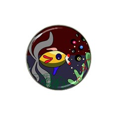 Fish Hat Clip Ball Marker by Valentinaart