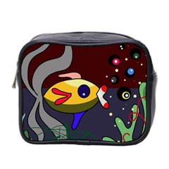 Fish Mini Toiletries Bag 2 Side