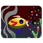 Fish Double Sided Flano Blanket (Medium)  60 x50  Blanket Front