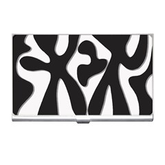 Black And White Dance Business Card Holders by Valentinaart