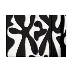 Black And White Dance Apple Ipad Mini Flip Case by Valentinaart