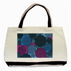 Blue Hypnoses Basic Tote Bag by Valentinaart