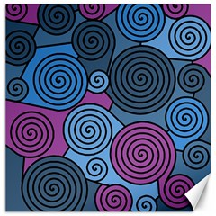 Blue Hypnoses Canvas 16  X 16