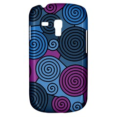 Blue Hypnoses Samsung Galaxy S3 Mini I8190 Hardshell Case by Valentinaart