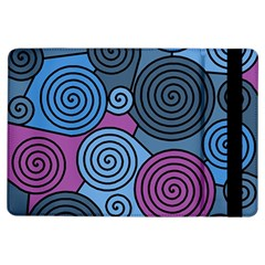 Blue Hypnoses Ipad Air Flip by Valentinaart