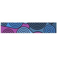 Blue Hypnoses Flano Scarf (large) by Valentinaart
