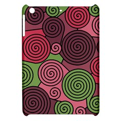 Red And Green Hypnoses Apple Ipad Mini Hardshell Case by Valentinaart