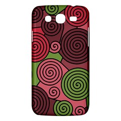 Red And Green Hypnoses Samsung Galaxy Mega 5 8 I9152 Hardshell Case  by Valentinaart