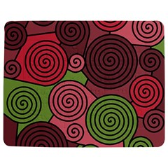 Red And Green Hypnoses Jigsaw Puzzle Photo Stand (rectangular) by Valentinaart