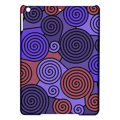 Blue And Red Hypnoses  Ipad Air Hardshell Cases by Valentinaart