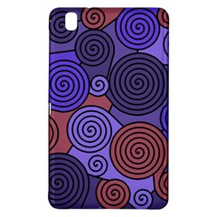 Blue And Red Hypnoses  Samsung Galaxy Tab Pro 8 4 Hardshell Case by Valentinaart