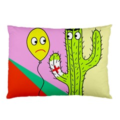 Health Insurance  Pillow Case (two Sides) by Valentinaart
