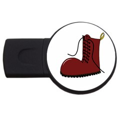 Boot Usb Flash Drive Round (2 Gb)  by Valentinaart