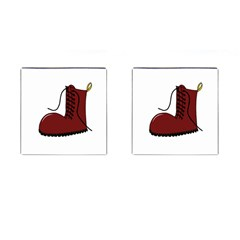 Boot Cufflinks (square) by Valentinaart