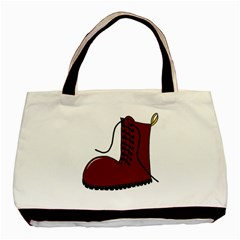 Boot Basic Tote Bag (two Sides) by Valentinaart