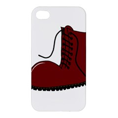 Boot Apple Iphone 4/4s Hardshell Case by Valentinaart