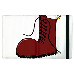 Boot Apple Ipad 2 Flip Case by Valentinaart