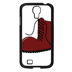 Boot Samsung Galaxy S4 I9500/ I9505 Case (black) by Valentinaart