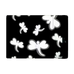White Dragonflies Ipad Mini 2 Flip Cases by Valentinaart