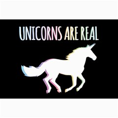 Unicorns Are Real Collage Prints by TanyaDraws