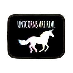 Unicorns Are Real Netbook Case (small)  by TanyaDraws