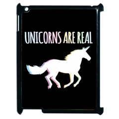 Unicorns Are Real Apple Ipad 2 Case (black)