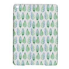 Green Watercolour Leaves Pattern Ipad Air 2 Hardshell Cases by TanyaDraws