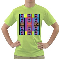 House O House Green T Shirt by MRTACPANS
