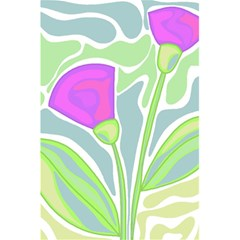 Purple Flowers 5 5  X 8 5  Notebooks by Valentinaart