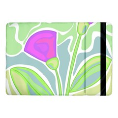 Purple Flowers Samsung Galaxy Tab Pro 10 1  Flip Case by Valentinaart