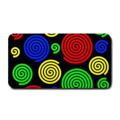 Colorful Hypnoses Medium Bar Mats by Valentinaart