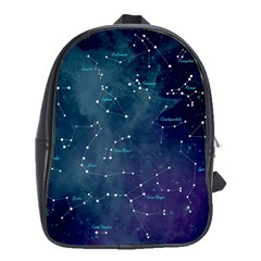 Constellations School Bag (large) by DanaeStudio