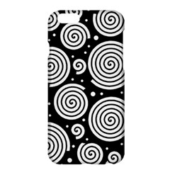 Black And White Hypnoses Apple Iphone 6 Plus/6s Plus Hardshell Case by Valentinaart