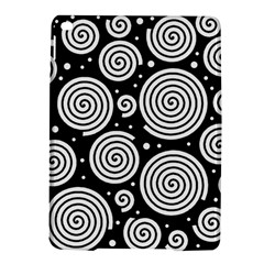Black And White Hypnoses Ipad Air 2 Hardshell Cases