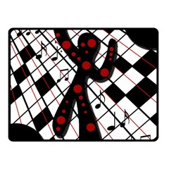 On The Dance Floor  Fleece Blanket (small) by Valentinaart