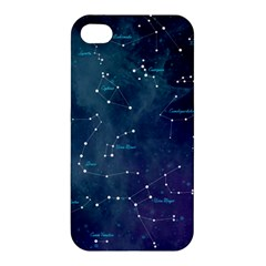 Constellations Apple Iphone 4/4s Hardshell Case by DanaeStudio