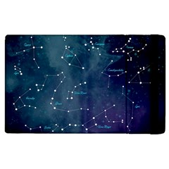 Constellations Apple Ipad 2 Flip Case by DanaeStudio