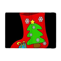 Christmas Sock Ipad Mini 2 Flip Cases by Valentinaart