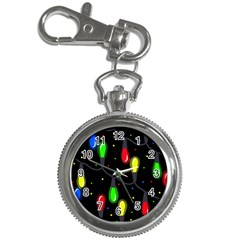 Christmas Light Key Chain Watches by Valentinaart