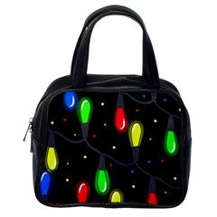 Christmas Light Classic Handbags (one Side) by Valentinaart