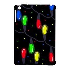 Christmas Light Apple Ipad Mini Hardshell Case (compatible With Smart Cover) by Valentinaart