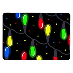 Christmas Light Samsung Galaxy Tab 8 9  P7300 Flip Case by Valentinaart
