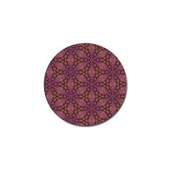 Fuchsia Abstract Shell Pattern Golf Ball Marker (10 Pack) by TanyaDraws